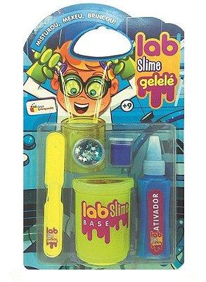 Kit Completo Laboratório De Slime Gelelé C/ Gliter Infantil