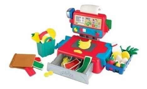 Kit Massinha Play-doh Caixa Registradora Com Som + Massinha