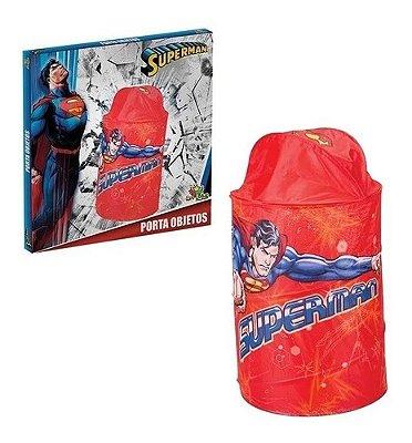 Porta Objetos Organizador De Quarto Infantil Superman Dc