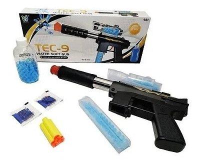 Arma De Pressão Orbeez E Dardos + 900 Bolas De Gel Tec - 9