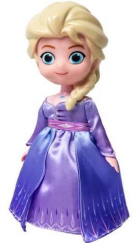 Boneca Elsa Dançarina Frozen 2 Musical - Vestido Magico