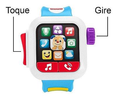 Relógio Meu Primeiro Smartwatch Aprender E Brincar Fisher