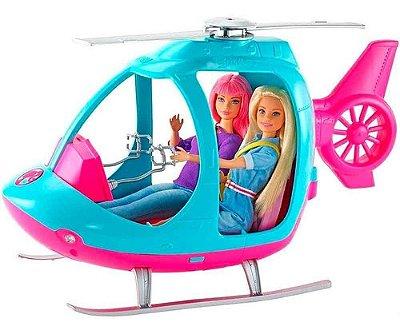 Boneca Barbie Helicoptero Explorar E Descobrir 2 Lugares
