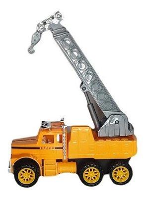 Caminhão Movido A Fricção Trucks Com Movimentos Articulado