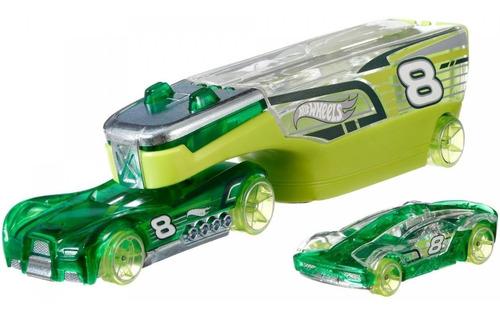Hot Wheels Caminhões De Transporte Veiculo Wingstorm Verde