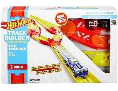 Hot Wheels Track Builder Conjunto De Pista Dobrável - Mattel