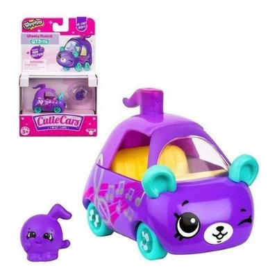 Mini Shopkins Veículo De Metal Cutie Cars Suzy Sonzeira