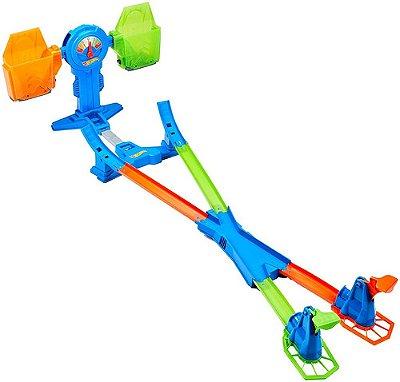 Pista Hot Wheels - Equilíbrio Extremo Com 2 Laçadores