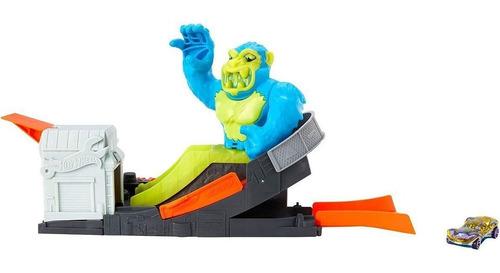 Pista Hot Wheels Ataque Tóxico Gorila Nemesis Edição 2021