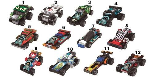 Carrinhos Hot Wheels Blocos De Montar Carrinho Radical - lançamento