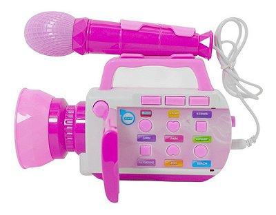 Kit Básico De Beleza Das Princesas Disney 3017 Azul