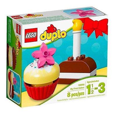 Lego Duplo - Os Meus Primeiros Bolos - 8 Peças Lindo E Fofo