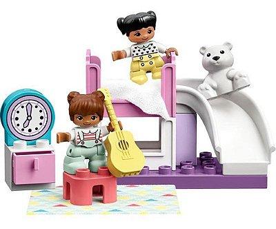 Lego Duplo Quarto Da Cidade Rosa 16 Peças Fofos E Lindos