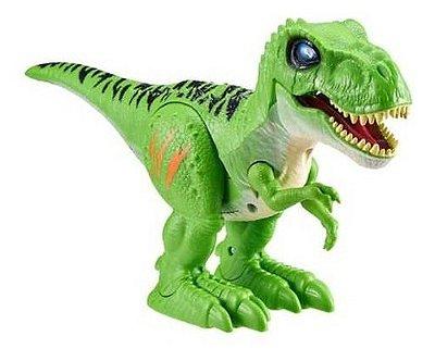 Robo Alive Dinossauro T Rex - Com Som E Luz E Ovo Slime
