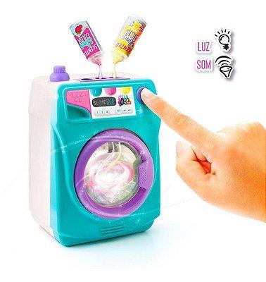 Mega Máquina De Lavar Slime - Cria Seu Próprio Slime Magico