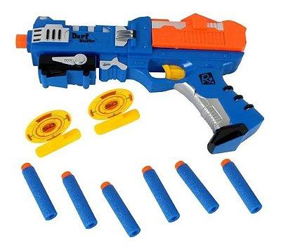 Alvo Certo Pistola Lançador De Dardos Super Air Shoot X- Power