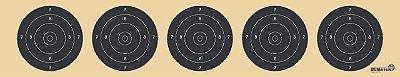 Fita de alvo para treino com medidas oficiais para pistola e carabina de AR