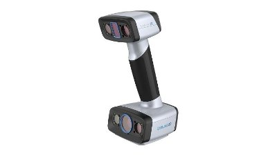EinScan HX Scanner 3D Shining - Portátil, colorido, baseado em fontes de luz hibrida Azul – Laser  & LED