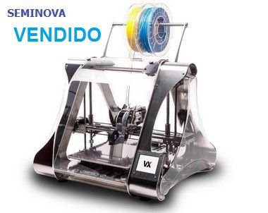 IMPRESSORA 3D ZMORPH VX FULL-SEMINOVA - COMPLETA COM 5 CABEÇOTES