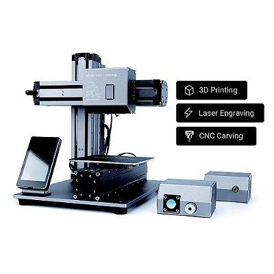 Snapmaker Original - Impressora 3D Multifuncional - Impressão em 3D - Gravação a laser - Usinagem CNC