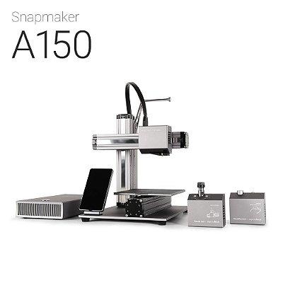 Snapmaker A150 - Impressora 3D Multifuncional-BLACK FRIDAY- Impressão em 3D - Gravação a laser - Usinagem CNC