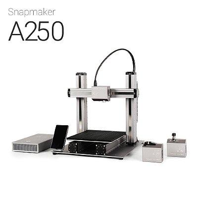 Snapmaker A250 - Impressora 3D Multifuncional-BLACK FRIDAY- Impressão em 3D - Gravação a laser - Usinagem CNC