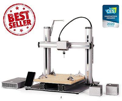 Snapmaker A350 - Impressora 3D Multifuncional - Impressão em 3D - Gravação a Laser - Usinagem CNC