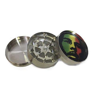 Triturador de Metal Bob Marley Reggae