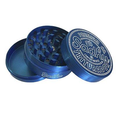 Triturador de Metal Azul Sadhu