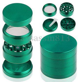 Triturador de Metal Verde