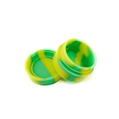 Silicone Oil Slick Verde e Amarelo