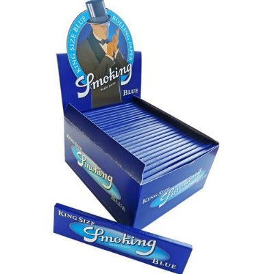 Caixa de Seda King Size Blue Smoking