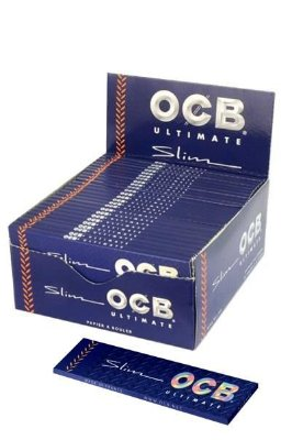 Caixa de Seda Slim Ultimate OCB