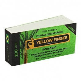 Piteira Double Big Eco Yellow Finger