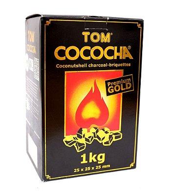 Carvão Cúbico 1kg Tom Cococha