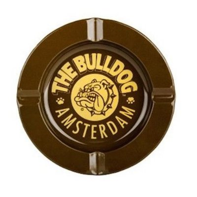 Cinzeiro de Metal Marrom The Bulldog