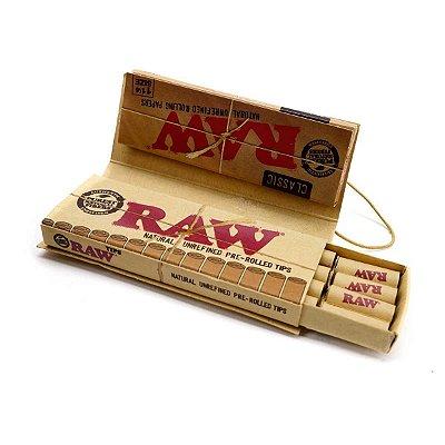 Seda 1/4 Classic com Piteira RAW