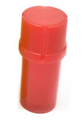 Pote Triturador Hermético Vermelho