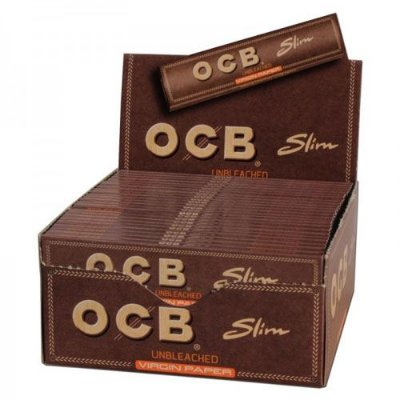 Caixa de Seda King Size Brown OCB
