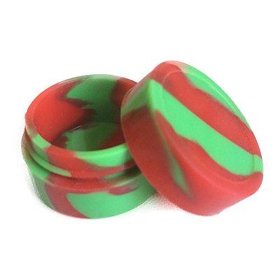 Silicone Oil Slick Verde e Vermelho