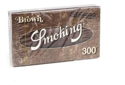Seda Brown 300 folhas Smoking