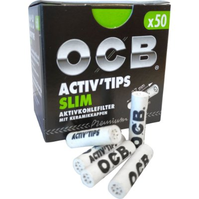 Piteira Charcoal Slim OCB