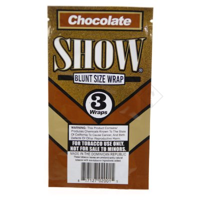 Blunt Flat Chocolate SHOW