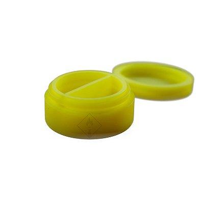 Silicone Oil Slick com Divisória Amarelo