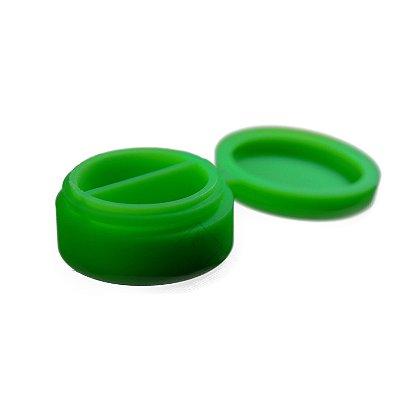 Silicone Oil Slick com Divisória Verde