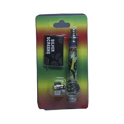 Pipe de Metal Pequeno Bob Marley