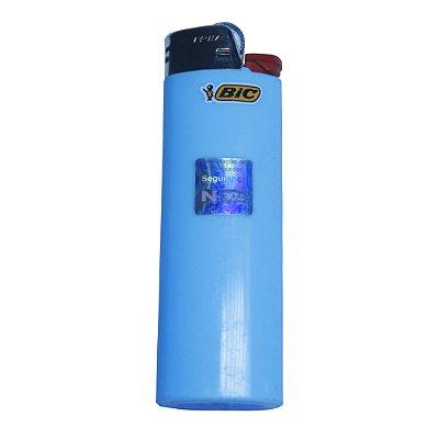 Isqueiro Azul Claro Grande BIC