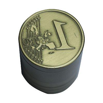 Triturador de Metal Ouro 1 Euro