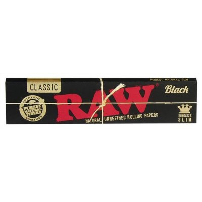 Seda King Size Black Classic RAW