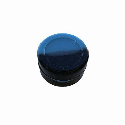 Silicone Oil Slick Preto e Azul